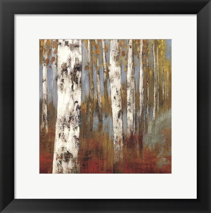 Framed Along The Path II Print