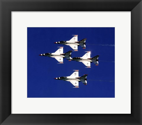 Framed United States Air Force Thunderbirds Print