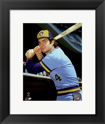 Framed Paul Molitor Posed Print