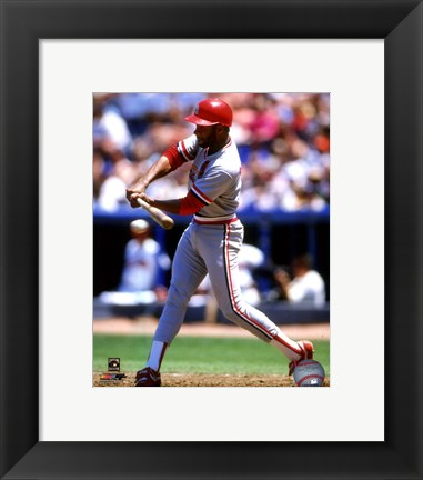 Framed Ozzie Smith 1988 Action Print