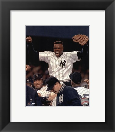 Framed Dwight Gooden No Hitter Print