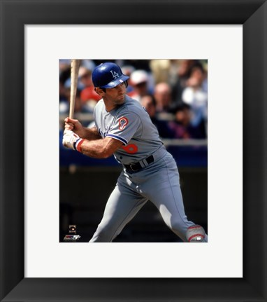 Framed Steve Garvey 1981 Action Print