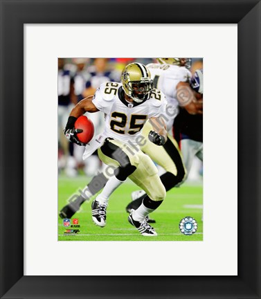 Framed Reggie Bush 2010 Action Print