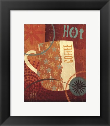 Framed Cool Java I Print