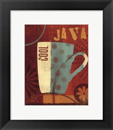 Framed Cool Java II Print