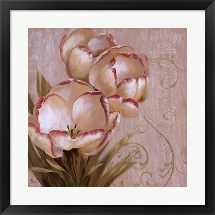 Framed Perfect Blooms I Print