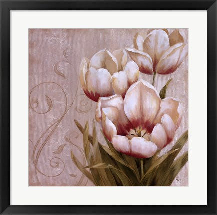 Framed Perfect Blooms II Print
