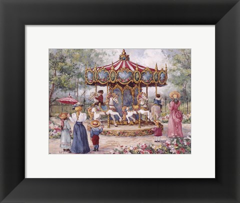 Framed Magical Horses Print