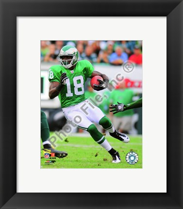 Framed Jeremy Maclin 2010 Action Print
