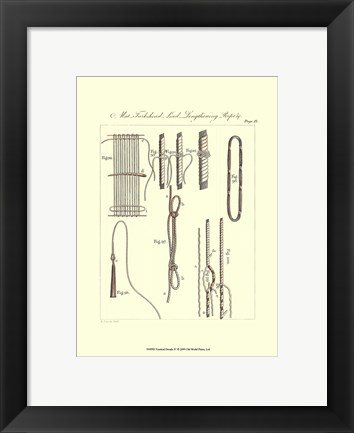 Framed Nautical Details IV Print
