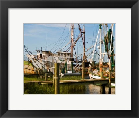 Framed Small Safe Harbor III Print