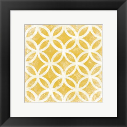 Framed Small Modern Symmetry VII Print