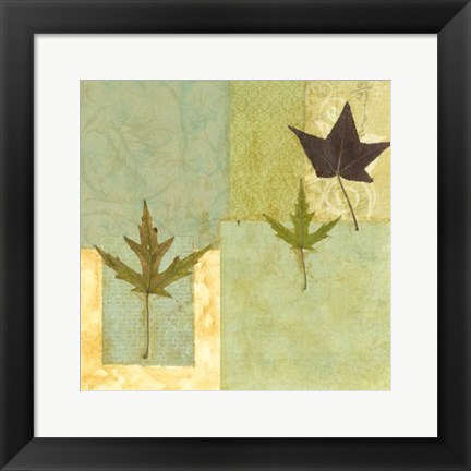 Framed Small Earth Elements II Print