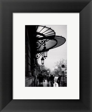 Framed Paris Print