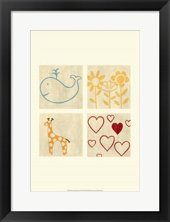 Framed Best Friends Forever III Print