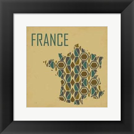 Framed Travel Abroad II Print