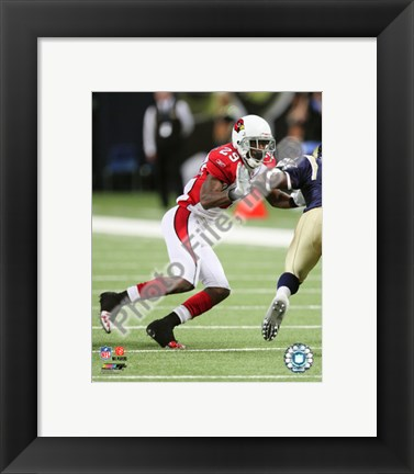 Framed Dominique Rodgers- Cromartie 2010 Action Print
