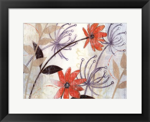 Framed Field of Whimsy II Print
