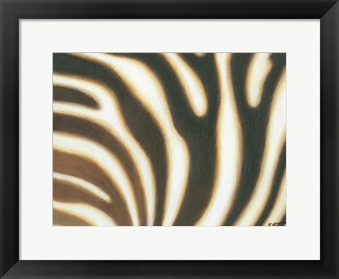 Framed Stripes I Print