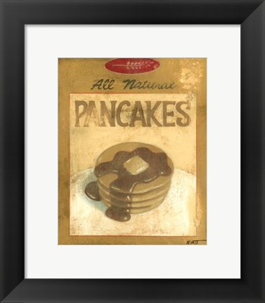 Framed Pancake Mix Print