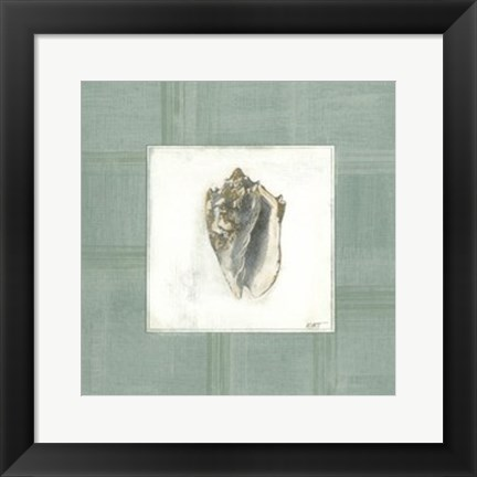 Framed Sea Breeze II Print