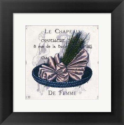Framed Haute Couture II Print