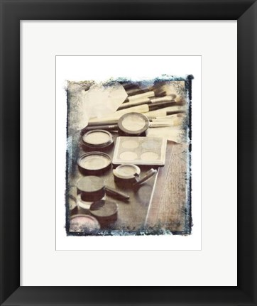 Framed Powder Room II Print