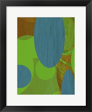 Framed Earth II Print
