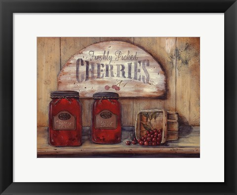 Framed Cherry Jam Print
