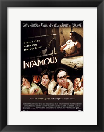 Framed Infamous Movie Print