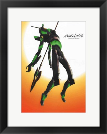 Framed Evangelion: 2.0 You Can (Not) Advance Print