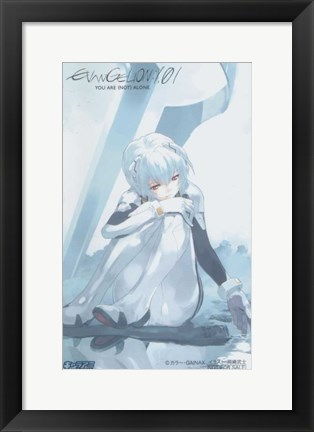 Framed Evangelion: 1.0 You Are (Not) Alone Print