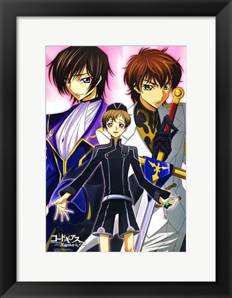 Framed Code Geass: Lelouch of the Rebellion Print