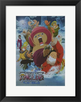 Framed One Piece Movie: The Great Gold Pirate Print