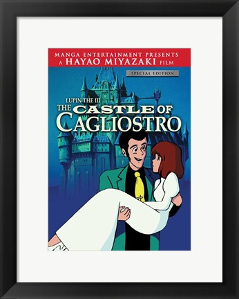 Framed Lupin the Third: The Castle of Cagliostro Print