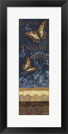 Framed Let Your Dreams Soar Print