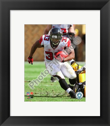 Framed Michael Turner 2010 with the ball Print