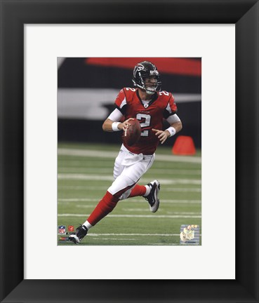 Framed Matt Ryan 2010 Action Print