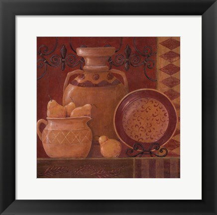 Framed Pear Spice Print