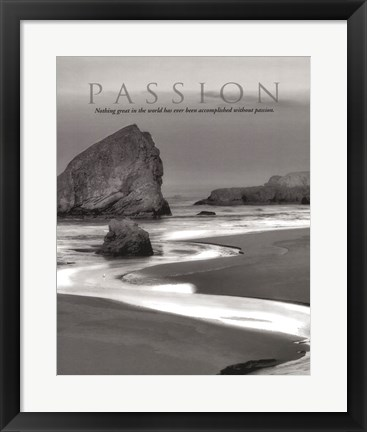 Framed Passion Print