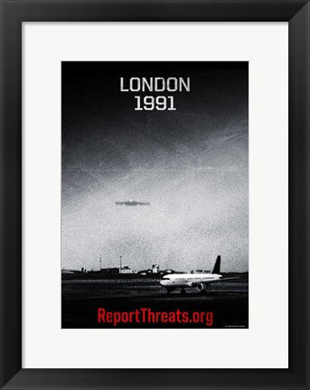 Framed Battle: Los Angeles - London 1991 Print