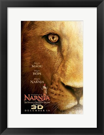 Framed Chronicles of Narnia: The Voyage of the Dawn Treader Print
