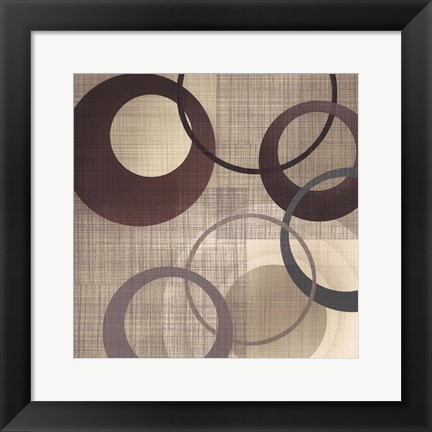 Framed Hoops 'n' Loops  II Print
