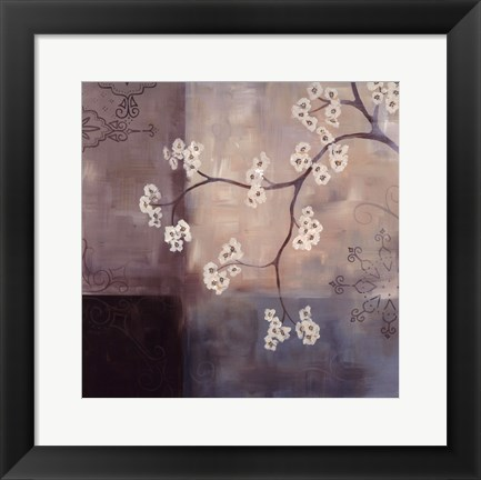Framed Spa Blossom I Print