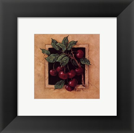 Framed Cherry Square Print