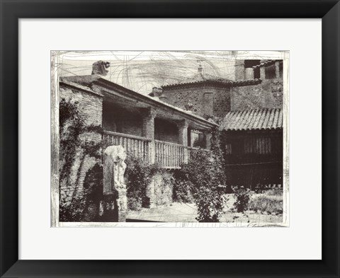 Framed El Greco House, Toledo, Spain Print
