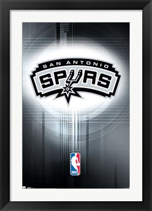 Framed Spurs - Logo 10 Print