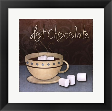 Framed Hot Chocolate Print