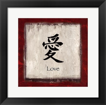 Framed Love - border Print