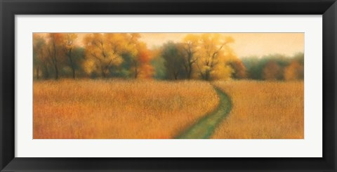Framed Path to the Woods Print
